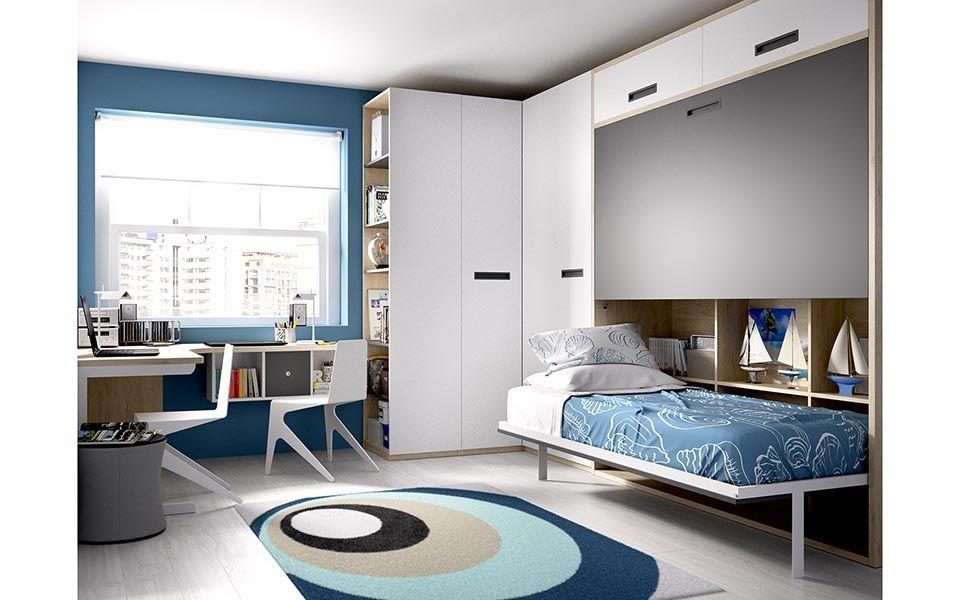 Pin de santiago games en ideas para dormitorios for Catalogo de muebles juveniles