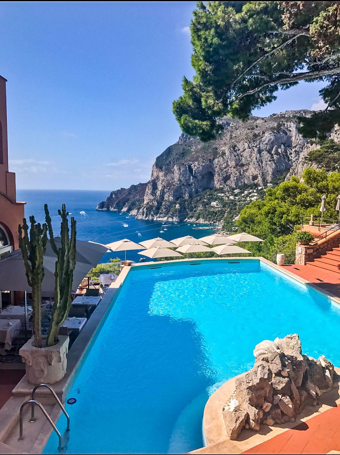 Where to Stay in Capri Italy Amalfi Coast