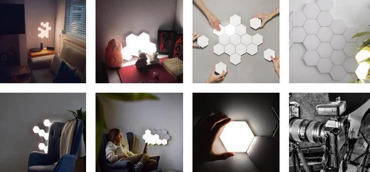 Touch Sensitive Modular Wall Light It S Okay To Be Weird Modular Walls Wall Lights Home Decor