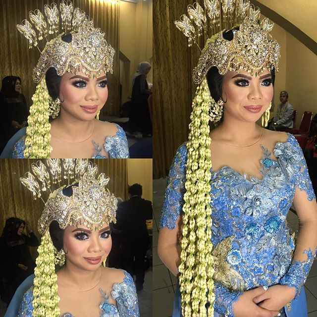 For Belva  #makeup #resepsi #sundasiger  #kebaya by @ivan_belva