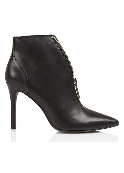 Boots zippée à talon haut Noir by LIU JO   Chaussures à talons ... fafbfa03dcb8
