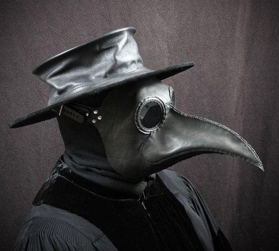 Dr Peste Adult Costume Di Venezia Plague Death Doctor Black Robe Hat Mask