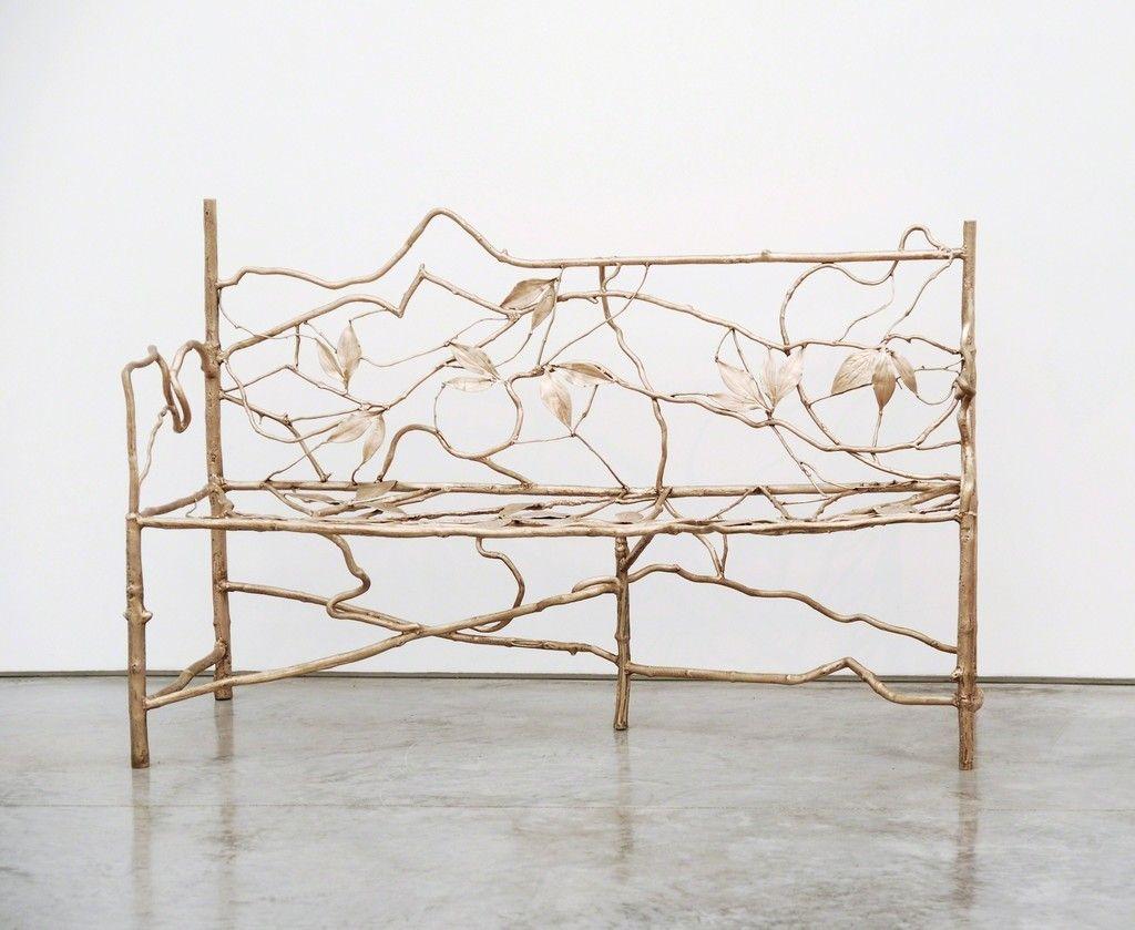 Claude Lalanne, Banc Entrelacs, 2000-2004, Paul Kasmin Gallery