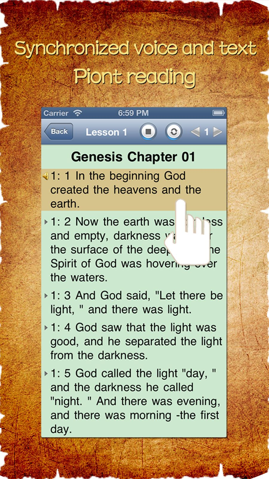 holy bible niv audio app free daily study verse study
