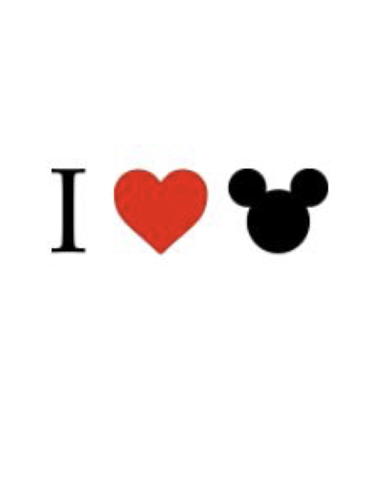Mickey head love diy vinyl iron on transfer by designinadash on etsy disney shirts for family