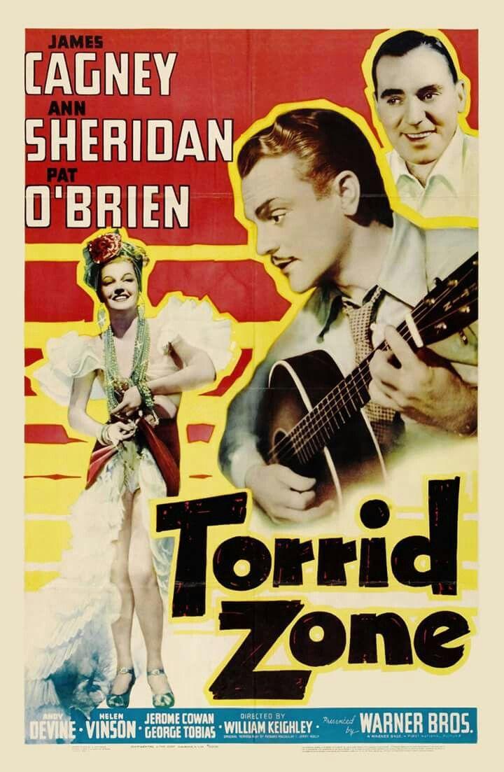 Torrid Zone (1940) James Cagney, Ann Sheridan, Pat O'Brien