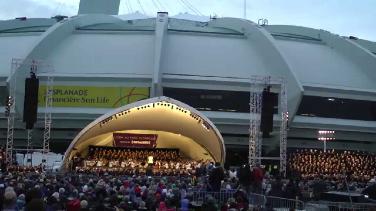 KENT NAGANO & l'OSM,Montreal Symphony Orchestra,Parc Olympique,2014 - [ ...