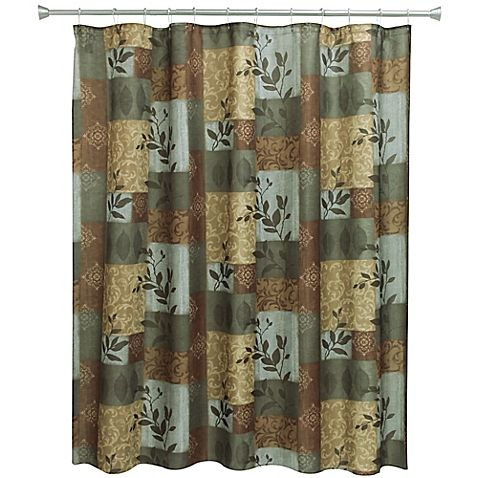 Add A Hint Of Outdoorsy Charm To Your Bath With The Bacova Aspen Leaves Shower Curtain And Hook Set This Beautiful Set Will Shower Curtain Curtains Aspen Leaf