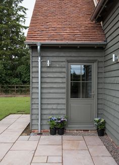 Image Result For Bedec Barn Paint Grey House Cladding House With Porch Garage Door Design