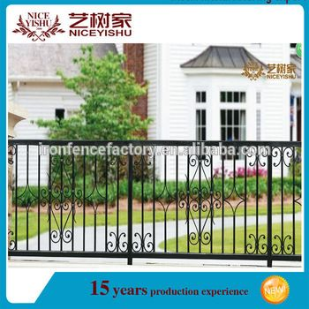 Deck Rails Outdoor Wrought Iron Fence Panels Railing Used Wrought