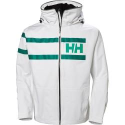 Photo of Helly Hansen Mens Salt Power Sailing Winter Jacket White Shellyhansen.com