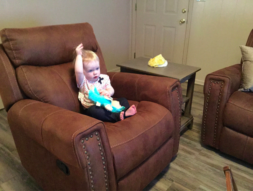It Looks Like She S Enjoying Watching Mattress Mack In The Gallery