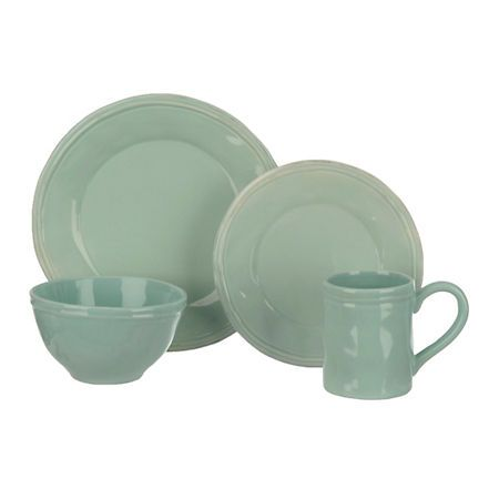 Dine in simple soft style with our Taylor Jade Dinnerware Set. A gentle pastel finish makes these a beautiful dining addition.  sc 1 st  Pinterest & Taylor Jade 16-pc. Dinnerware Set | Kirklands | For The Lair ...
