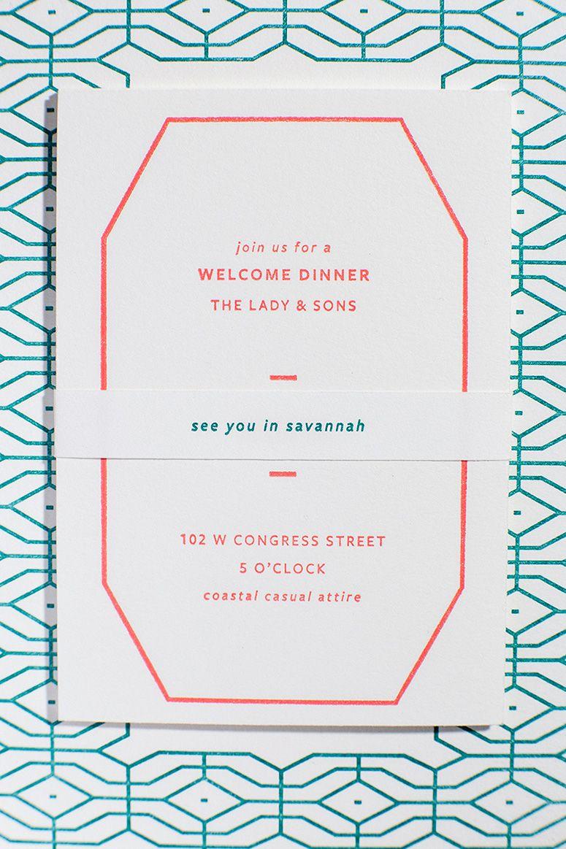 Brooke u ryan see you in savannah wedding invitations u papers