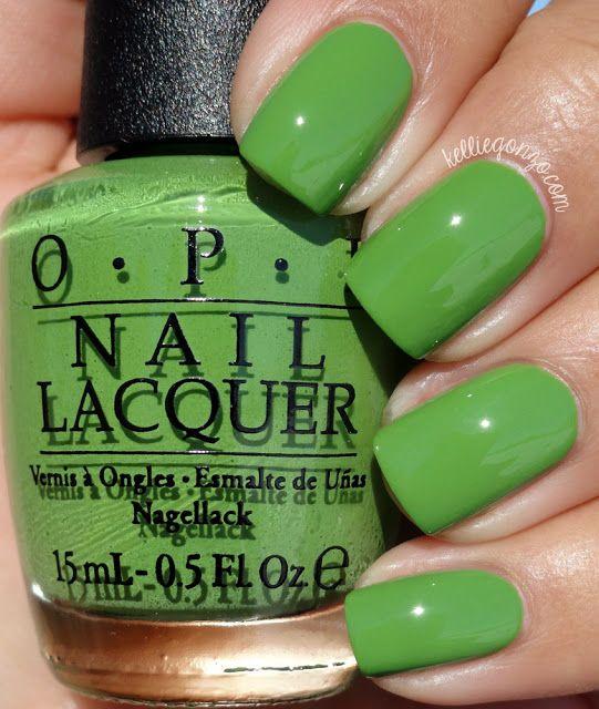 OPI — I\'m Sooo Swamped! | NAILS | Pinterest