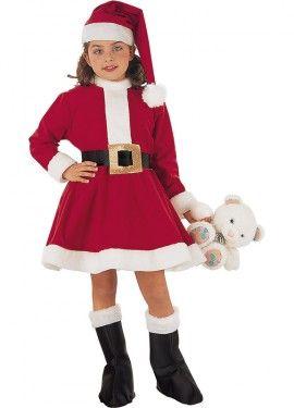 Disfraz de Mama Noel para niña  46aa2b88dc1