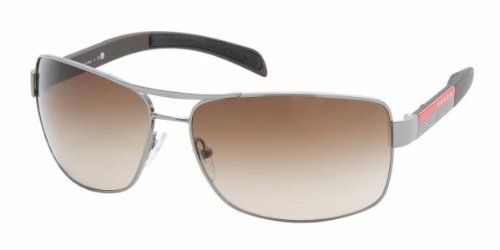 7443fd5edf Prada Sport PS54IS Sunglasses-5AV 6S1 Gunmetal (Brown Gradient Lens)-65mm