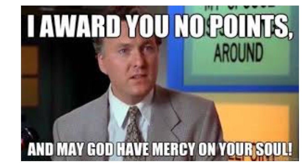Hahahaha awesome, Billy Madison quote. No mercy for ...
