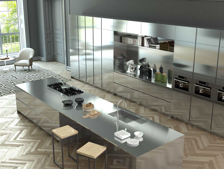 Cucina Moderna In Acciaio Inox.Pin Di Kien Bui Su Furniture Produkt Nel 2019