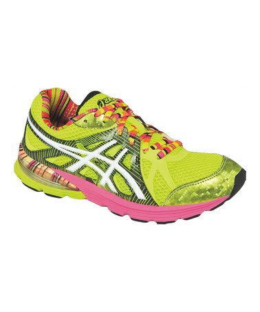 Another great find on #zulily! Yellow Preleus GEL® Running Shoe - Women #zulilyfinds