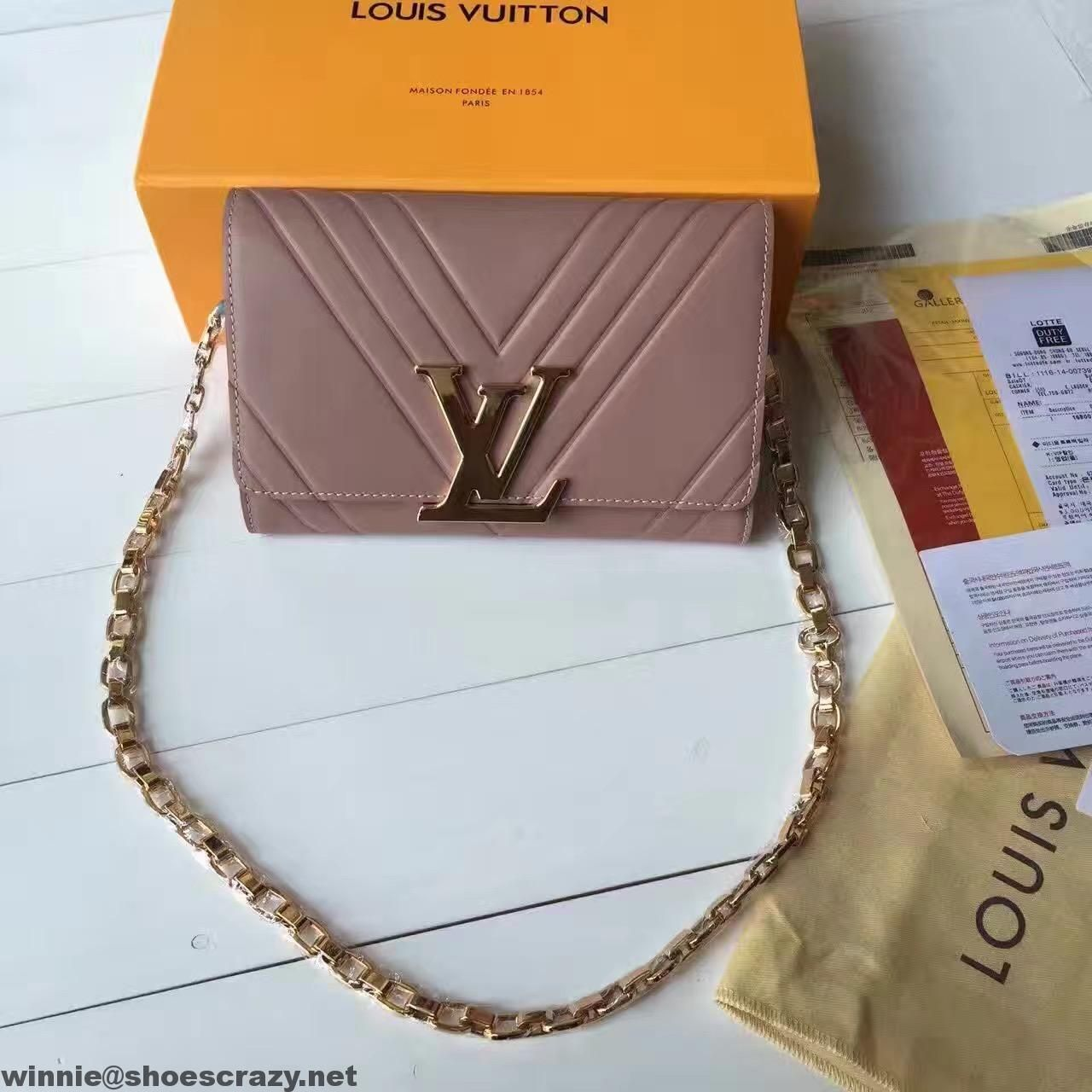 Louis Vuitton Chain Louise GM - Nude | The Volte