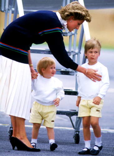 Princess Diana And Her Sons Images Princess Diana And The Princes Images, Photos, Reviews