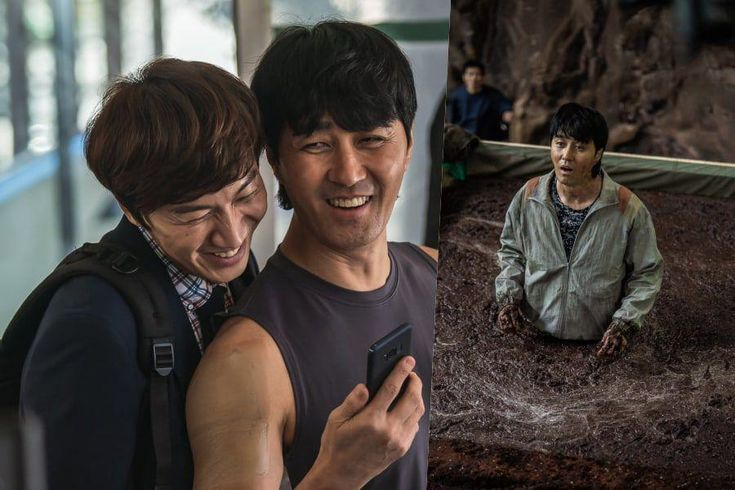 """Lee Kwang Soo, Cha Seung Won, And More Film Their Own Stunts Behind The Scenes Of Disaster Movie """"Sinkhole"""""""