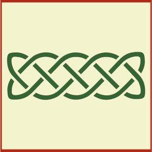 photograph regarding Printable Celtic Stencils identified as Celtic Knot 5 Stencil Crafts Celtic knot, Stencils