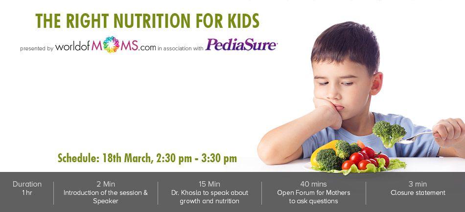 World Of Moms Kids Nutrition Webinar Nutrition
