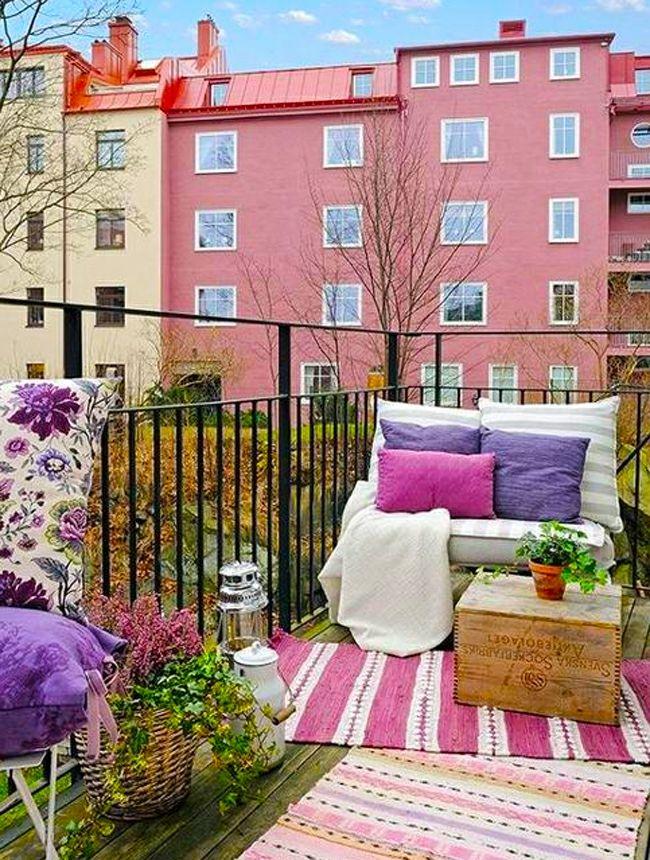 Petits balcons de ville l inspiration nordique balcon - Appartement moderne russe inspiration nordique ...