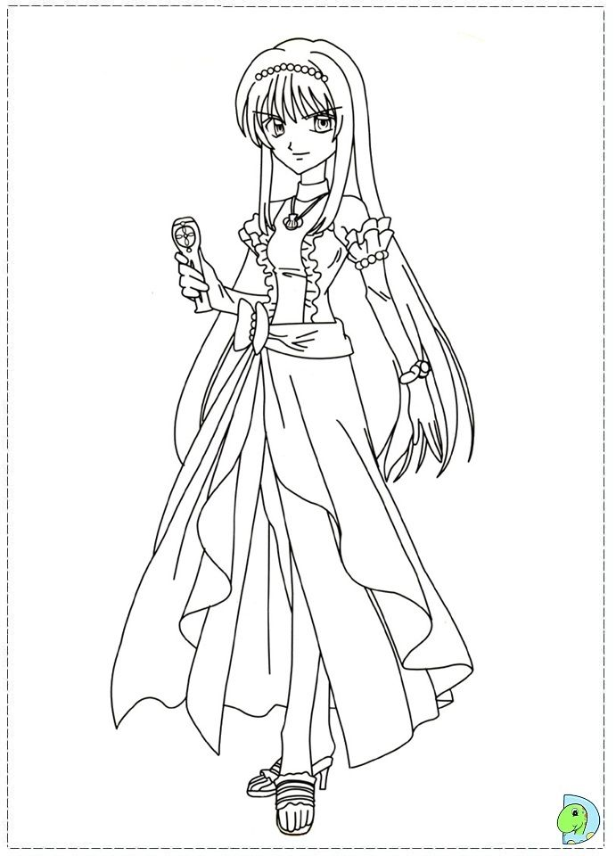 Coloring page | Colouring Pages | Pinterest | Mermaid melody