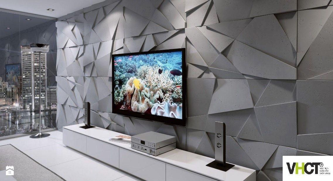 Znalezione Obrazy Dla Zapytania Nowoczesny Salon Beton Tv Room Design Living Room Tv Unit Designs Gray Living Room Design