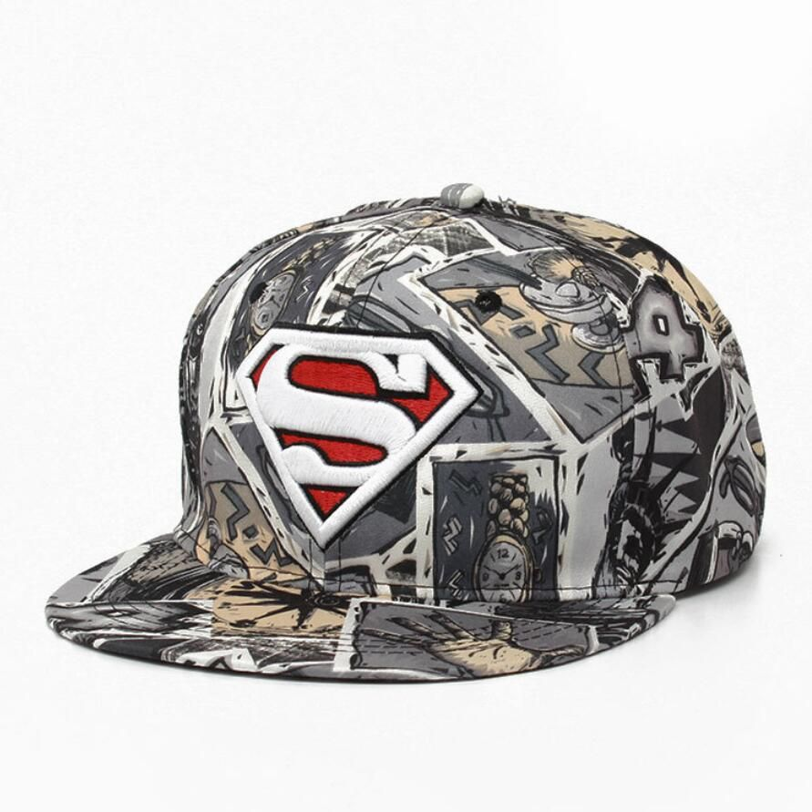 1Piece Free shipping Super baseball cap snap back caps for man & lady  printed hats