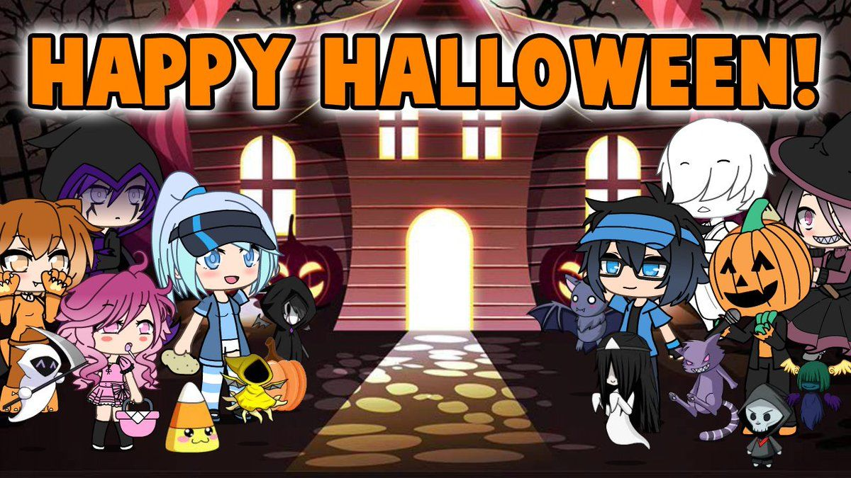 Explore And Download Photo Of Tweet Added By Lunimegames Happy Halloween Send Us Some Halloween Themed Gacha Life Halloween Themes Happy Halloween Halloween