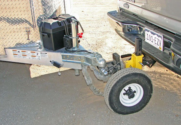 Hellya hitch helper up to 1800lbs tongue weight with the