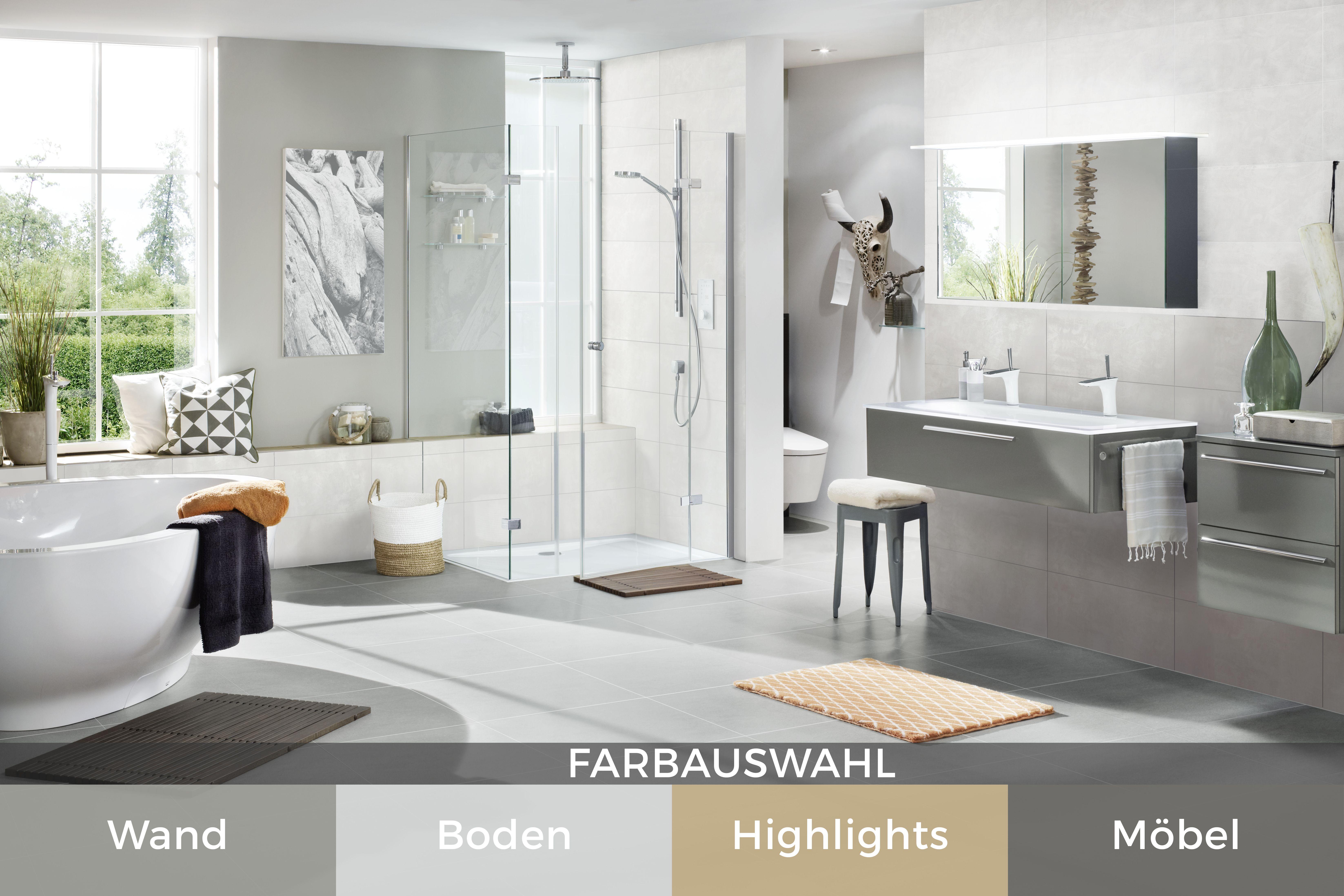 Fantastisch Das Badezimmer Neu Gestalten #Badezimmer #Bathroom #ideen #fliesen #tiles  #highlights