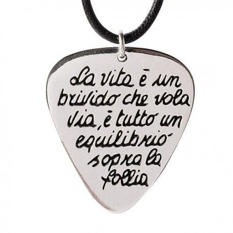 data di rilascio: acc0f eac5e Collana Ink collection gioielli ispirati alle canzoni di ...