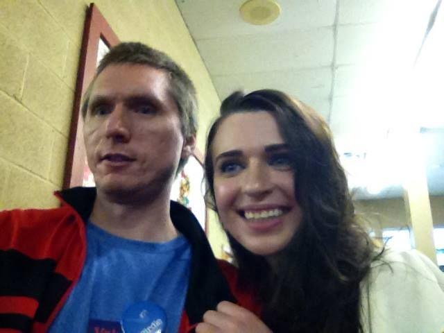 me and friend Raychelle Burchett