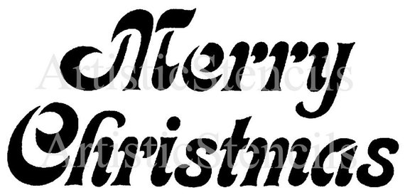 photograph regarding Merry Christmas Stencil Free Printable identify STENCIL Merry Xmas 10x4 Products and solutions Xmas stencils