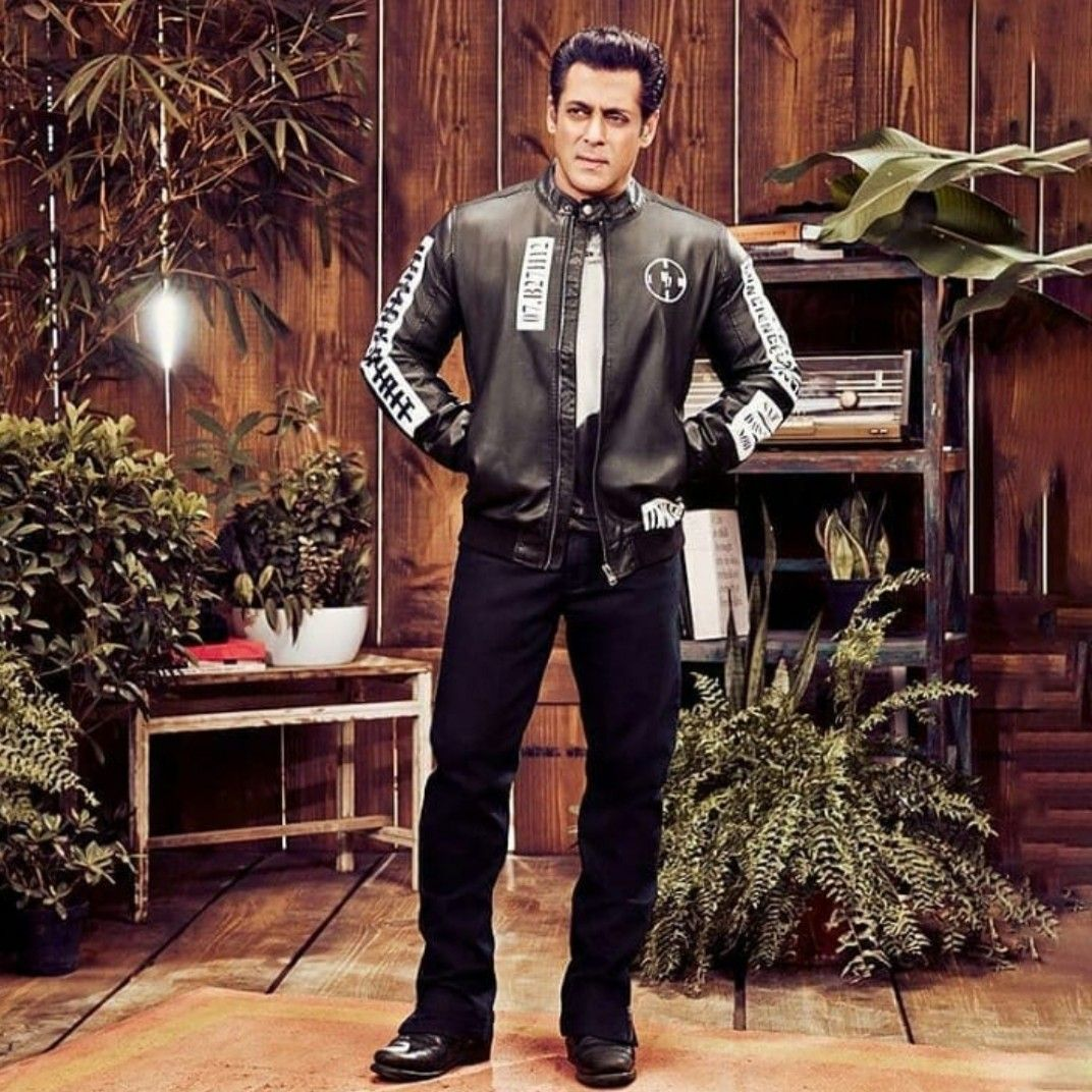 Pin by its_RichaSingh on salman khan ️ | Leather jacket ...