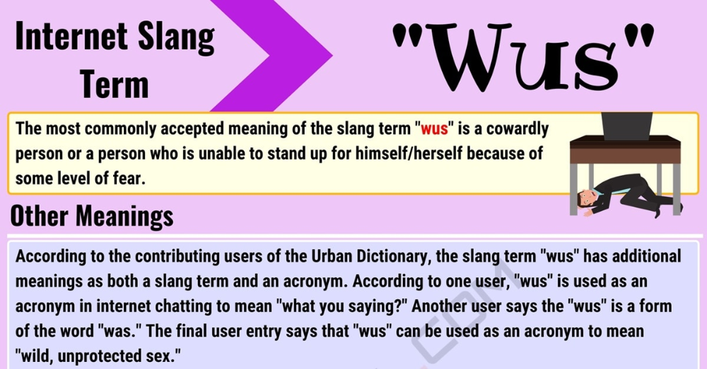 Wus Meaning: How to Use the Internet Slang Word Wus ...