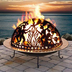 Bonfire Celebration Fire Pit Dome