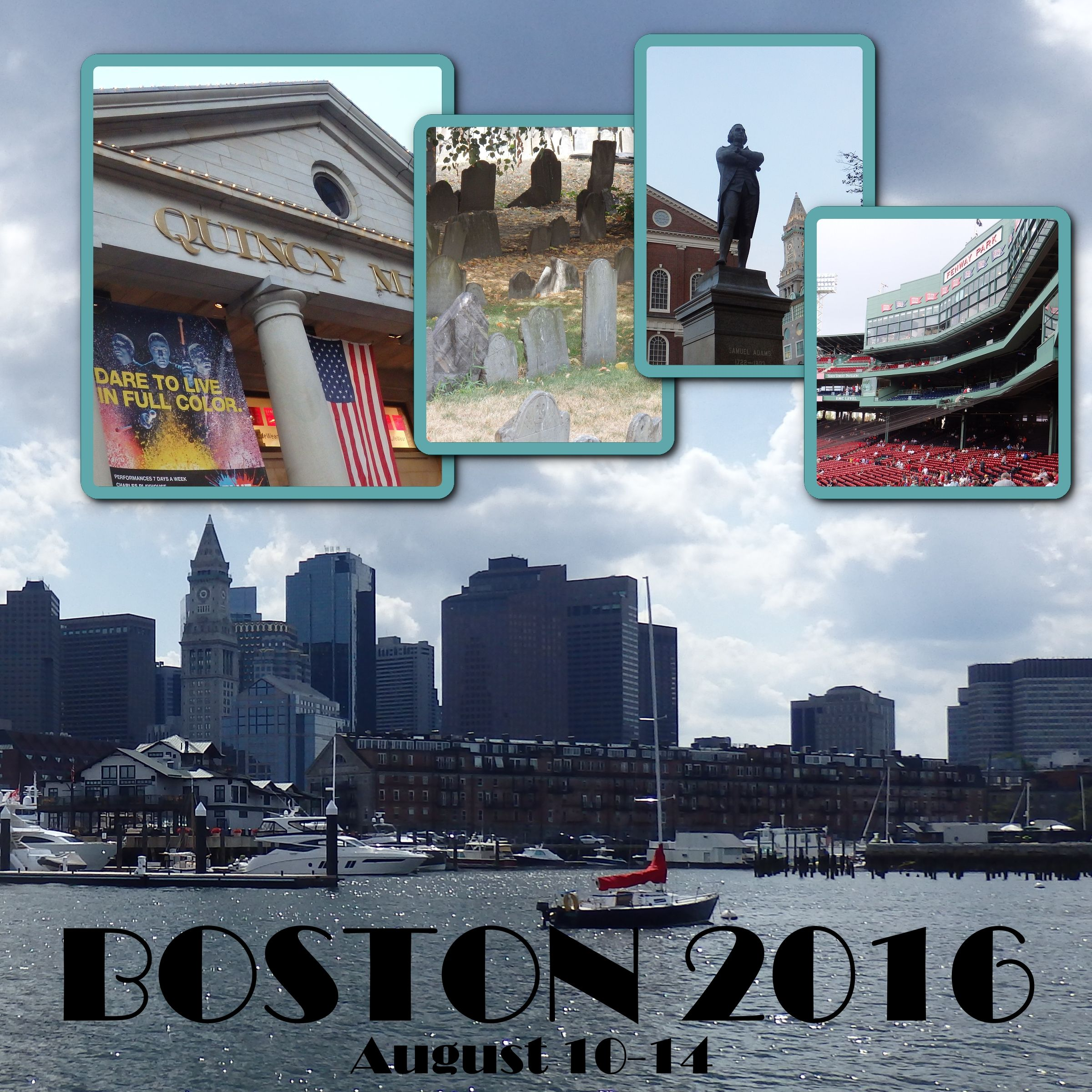 Boston Vacations Ideas: Boston Cover Page - Scrapbook.com