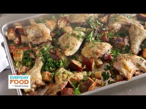 Inside out chicken and stuffing everyday food with sarah carey inside out chicken and stuffing everyday food editor sarah carey teaches you how make a crowd pleasing chicken dinner that captures the best of both forumfinder Gallery