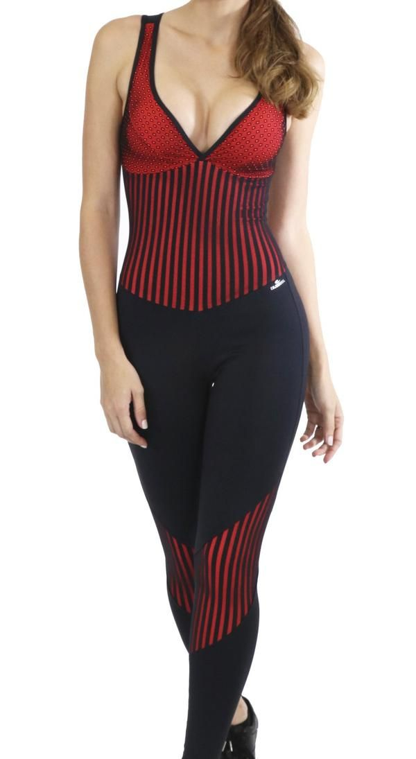 1f6ddba8e0e Chic Brazilian Workout Jumpsuit. This is a high end sportswear product with remarkable  features.