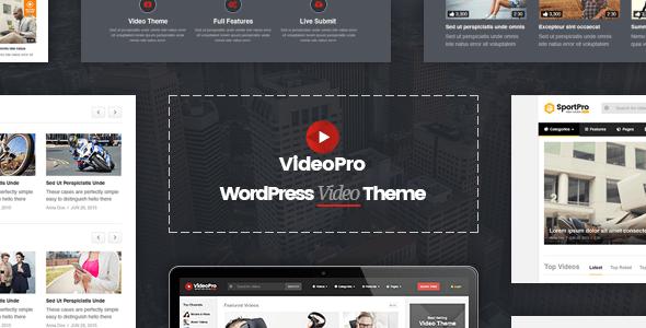 Awesome Best Video WordPress Themes | WordPress Themes | Pinterest ...