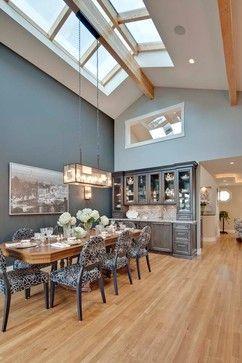 Maple Flooring Grey Walls