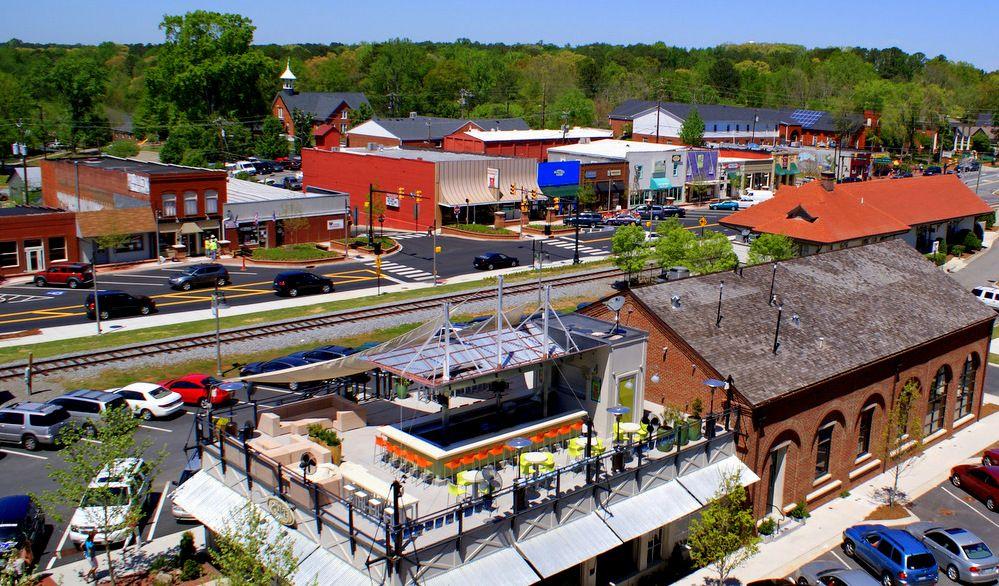 Downtown Woodstock Ga