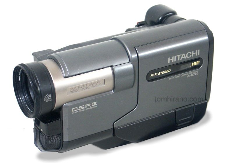 hitachi video camera. hitachi ntsc) - in 1998 if you had a that meant were wanna be filmmaker. i was skipping meals college to get one of these video camera