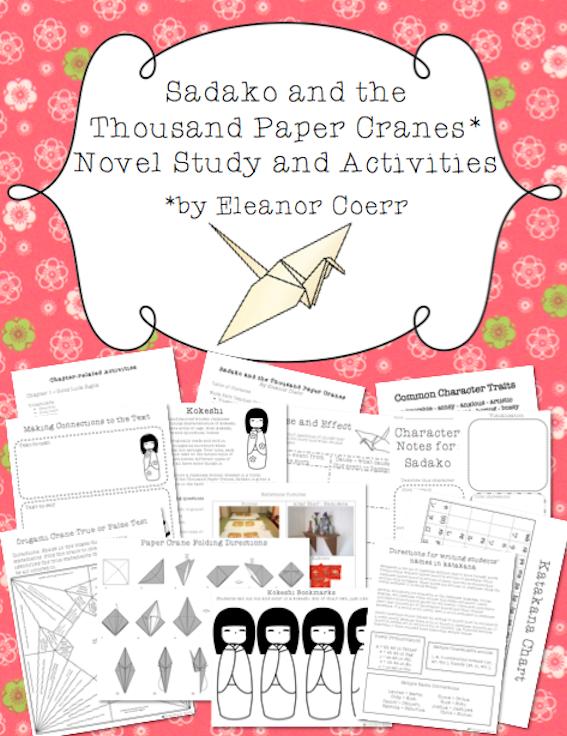 the paper crane lesson plans